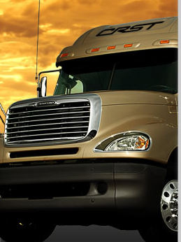 CRST CDL academy truck