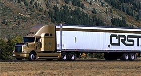 CRST company-paid training truck