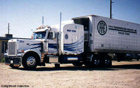 FFE transport truck