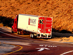 Knight truck driving school