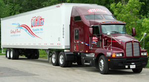 Millis Transfer company-paid training truck