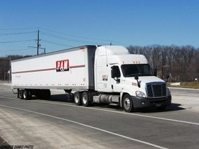 PAM Transport CDL training tractor trailer