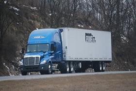 Prime Inc Truck On The Highway