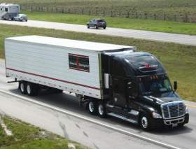 Stevens Transport Trucks