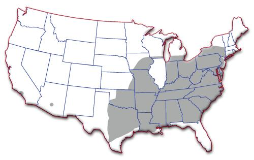 USA Truck hiring zone map