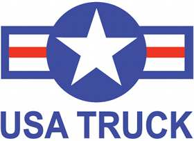 USA Truck logo company-sponsored CDL training