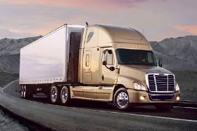 gold freightliner becoming a truck driver and cdl training