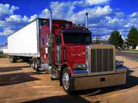red peterbuilt truckingtruth site menu